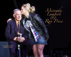 Miranda Lambert and Ray Price