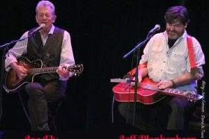 Joe Ely and Jeff Plankenhorn take the Texan Theater stage